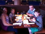 Dinner at Red Lobster