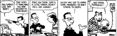 calvin dad and supper