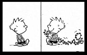 calvin and lights
