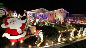 From the Times-Colonist. They always published a map of the best Christmas lights displays