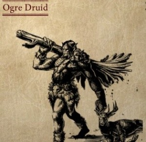 A druid who is an ogre, you say? What madness is this?