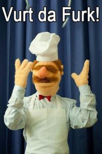 The Muppet's Swedish Chef. How poetic.