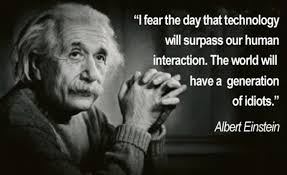What would Einstein really have said?