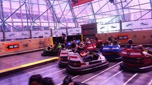 It was a lot like this. Bumper-to-bumper bumper cars.
