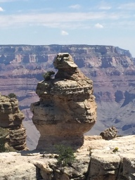 Duck Rock. Or do you see the head of a sphinx? Or a monkey with a hat?