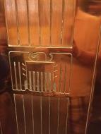 The elevator door!