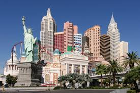 New York, New York, in Las Vegas. The Holy Grail of the kid side of Vegas. Rides. Candy. Arcades.