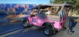 Pink Jeep Tours, Grand Canyon, Arizona. Our goal for the day.