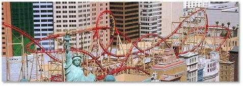 roller coaster at ny ny