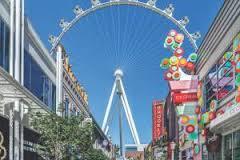 The High Roller. A huge Ferris Wheel in Vegas.