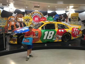 The M&Ms car. The-Youngest wanted to buy it. To, you know, store his M&Ms.