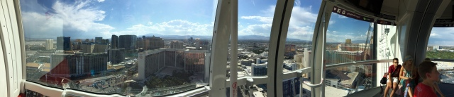 More panoramic Vegas from the High Roller