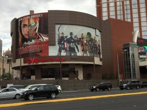 The Avengers Tour at Treasure Island.