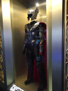 Thor's outfit. Or what The-Youngest wants to wear to school to smite his enemies