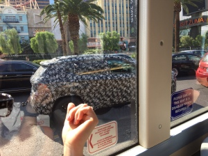 20 cars like this all in a convoy. That's Vegas, baby