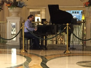 The pianist we'd been searching for!